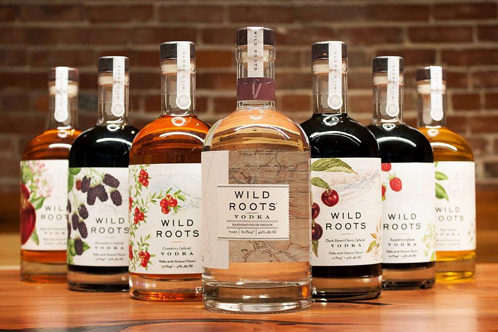Wild Roots Vodkas