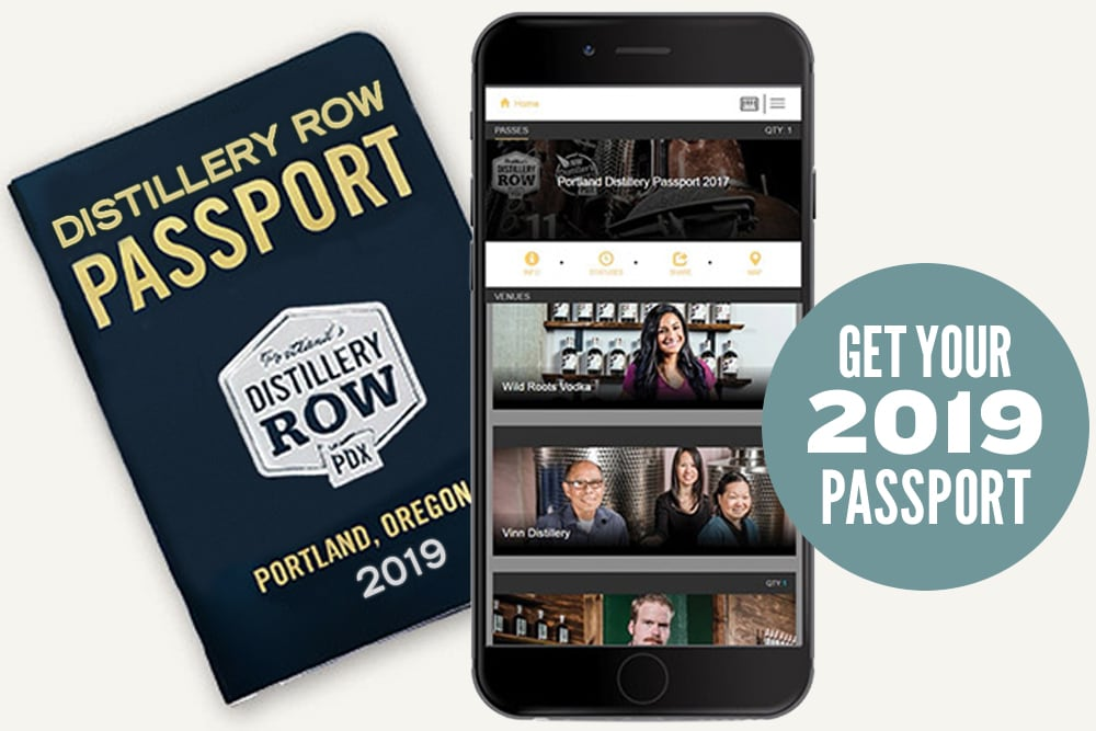 2019 Distillery Row Passport