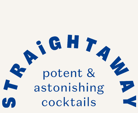 Straightaway Cocktails